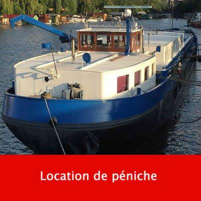 Location de péniche
